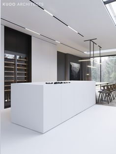 These minimalist kitchen concepts are equivalent components tranquil and trendy. Locate the very best concepts for your minimalist style kitchen that matches your preference. Surf for remarkable images of minimalist style kitchen for motivation. Modern Kitchen Interiors, Modern Kitchen Design, Interior Design Kitchen, Modern Interior Design, Interior Architecture, Minimalist Architecture, Farmhouse Style Kitchen, Modern Farmhouse Kitchens, Casa Kardashian