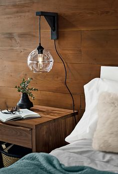 Youngsters Area Home Furnishings Tandem Wall Mount - Modern Bedroom Lighting - Modern Lighting - Room and Board Modern Bedroom Lighting, Modern Wall Sconces, Modern Bedroom Furniture, Living Room Lighting, Modern Lighting, Industrial Bedroom Decor, Light Bedroom, Hallway Lighting, Overhead Lighting
