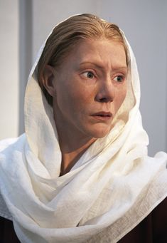 Reconstructed face of a powerful Viking era woman named Estrid based on the findings in her grave. The social structure during the days of the Vikings were much more family based than today's society. The women were fairly equal to the men and travelled and traded together with them.