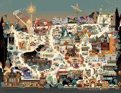 2.  Tivoli Gardens....amusement park...might be all day...