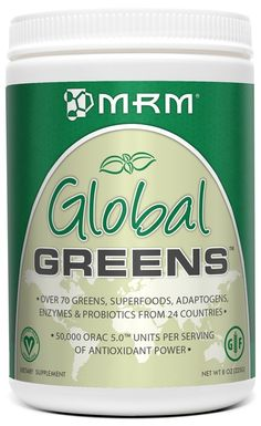 MRM Global Greens Supplement, 225 Gram *** Tried it! Love it! Click the image. : Herbal Supplements