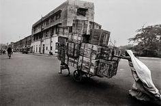Raghu Rai: Woman Cart Pusher, Delhi by Raghu Rai, 1979