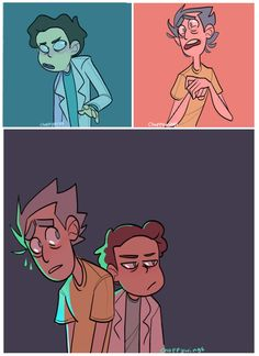 Switcharoooo (Rick and Morty) by Choppywings