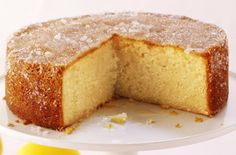 This tangy cake is sure to be a spring tea-time favourite and is perfect for Mother's Day or an Easter party. Treat your family to this tasty recipe.