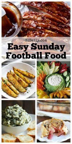 Best Football Food, Football Party Foods, Fall Party Foods, Football Parties, Football Tailgate, College Football, Super Bowl Essen, Tailgating Recipes, Football Recipes