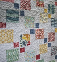Rachel@liketosew.blogspot.com   Blogged here: liketosew.blog…   Flickr Disappearing Nine Patch, Nine Patch Quilt, Patchwork Quilt Patterns, Country Quilts, Easy Quilts, Quilting Tips, Quilt Making, Quilt Blocks, Patches