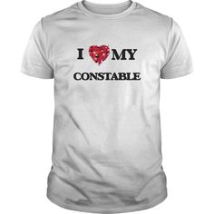 (Tshirt Best Order) I love my Constable   Discount Best