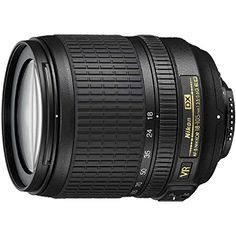 Nikon 18-105mm f/3.5-5.6 AF-S DX VR ED Nikkor Lens for Nikon Digital SLR Cameras (Certified Refurbished) - REFURBISHED Features DX-format, high-power 5.8x zoom lens with focal length ranging from 18 to 105mm Broad picture angle range approximates the perspective of a 27-157.5mm lens on a 35mm-format film camera or Nikon FX-format digital SLR Covers diverse shooting situations from wide-angle landscape...