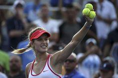 Eugenie Bouchard - US Open 2015 (via La Presse) Pic: AFP