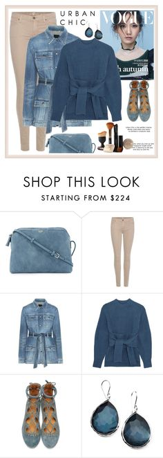 """""""urban"""" by metka-belina ❤ liked on Polyvore featuring The Row, 7 For All Mankind, Yves Saint Laurent, 3.1 Phillip Lim, Isabel Marant and Ippolita"""