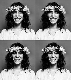 """Patti Smith's """"smile therapy"""""""