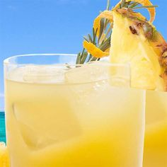 Aloha Screwdriver Recipe -The forecast is always sunny with this cocktail. <b>Provided by 100% DOLE® Canned Pineapple Juice</b>
