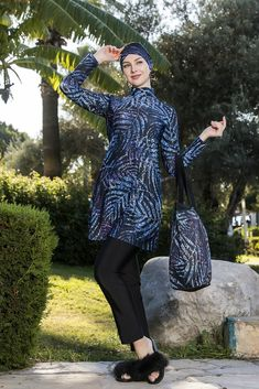 Polyester Elastane The Burkini has got 3 pieces as bone, top, and legging. Ideal for swimming. Quick Dry and High Quality Fabric. Chlorine and Sea Water Resistant. Islamic Swimwear, Muslim Fashion, Swimsuits, Elegant, Stylish, Lady, Fabric, Women, Suits