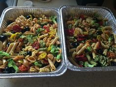 Easy pasta salad for parties