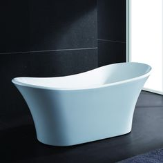 """This 71"""" freestanding tub captures understated elegance in its purest form. You can recline comfortably in the high, contoured ends of this Italian-style bathtub. Create a renaissance within your own personal space!.AKDY 71"""" Freestanding Soaking Bathtub AZ-F274"""