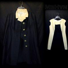 Vtg 60s Op Art Lilli Ann B&W Shift Dress XL & Matching Jacket w/ Mandarin Collar #LilliAnn #BusinessCocktail #vtg #60s #1960s #OpArt #xl #ShiftDress #B&W #Black&White #OffWhite #silk #MatchingJacket #MandarinCollar #LuciteButtonUp #MothballHavenVintageThreads