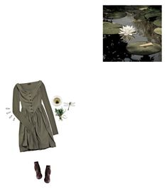 """Small Lily Pond"" by graywil ❤ liked on Polyvore featuring Vivienne Westwood Anglomania, Chie Mihara and Old Navy"