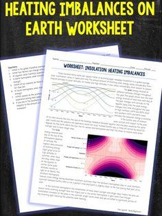 Heating Imbalances Worksheet