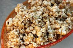 Dorm Friendly Snacks and Easy Caramel Popcorn - Clever Housewife