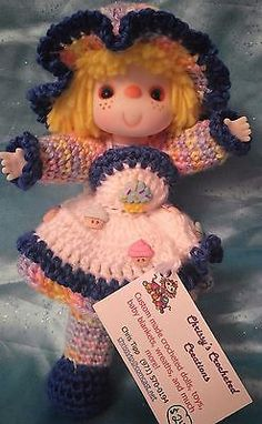 Adorable-Vintage-Style-10-Hand-Crocheted-Doll-Lil-Cupcake