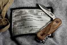 100th Anniversary Swiss Army Knife - EvoWood