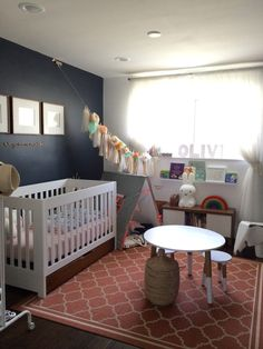 Project Nursery - Full view of her room.