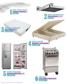 Itens básicos para morar em uma casa