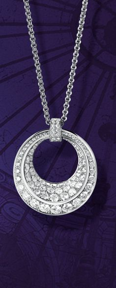Refined lines, elegant design and sophisticated curves: the Chopard IMPERIALE pendant set with diamonds