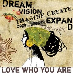 I so want this giclee I discovered at papayaart.com ... couldn't have said it better. Anahata is beyond talented!