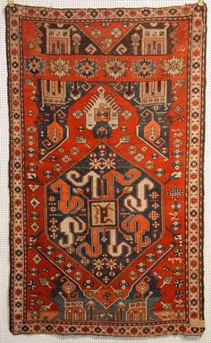 Caucasian Kazak prayer rug, 19th c
