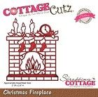 Cottage Cutz - Dies - Christmas Fireplace