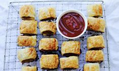 Make your own flakey sausage rolls with this low fat recipe that uses chicken and pork mince rather than preservative-laden sausage mince. This recipe is great for children's birthday parties or to take on a picnic – adults usually love them as much as the kids.
