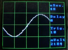Arduino Oscilloscope Arduino powered 5 Million samples per second oscope with CA3306