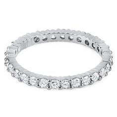 The Lucca full eternity ring from Hatton Jewels