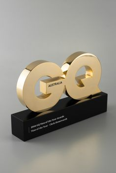 GQ Australia Man of the Year Trophy | Design Awards
