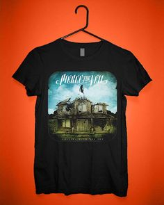Pierce The Veil Album Cover Custom T shirts,Band Merchandise,Tees,Clothing,Short sleeve (Made in USA)