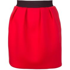 MSGM Short skirt ($230) ❤ liked on Polyvore