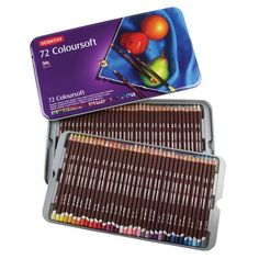 Derwent Coloursoft Tin of 72, $120 !!