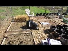 My Community Garden Plot Episode 3: 8 Kinds of Raised Beds, A Watering System & Progress