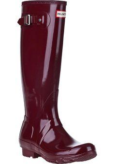Hunter boots!