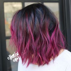 winter hair color Amazing Hair Colors That You Might Find Interesting Hair Color Pink, Cool Hair Color, Hair Colors, Raspberry Hair Color, Golden Brown Hair, Dye My Hair, Ombre Hair, Pretty Hairstyles, Hair Trends