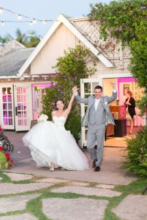 Summer Wedding At Rincon Beach Club Photos Style Me Pretty Photo