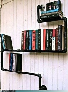 OK, it's not being used as a handrail but I love the idea.