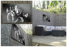 Banksy Mobile Lovers HD metal print - hang your Banksy in the garden with a weatherproof print Banksy Canvas Prints, Outdoor Art, Outdoor Decor, Modern Canvas Art, Thierry Henry, Arsenal, Garden Art, The Incredibles