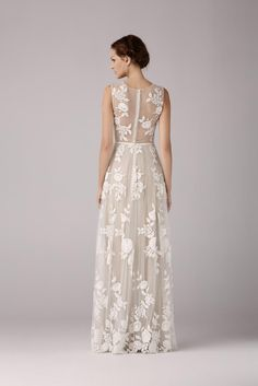 Wedding dress Robe de mariée Anna Kara Arya chez Plume Paris