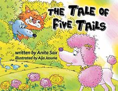 The Tale of Five Tails Bookmarks, Childrens Books, Writing, Reading, Illustration, Amazon, Children's Books, Amazons, Children Books