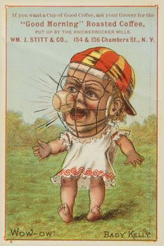 For Love of the Cards: 1880's Trade Card