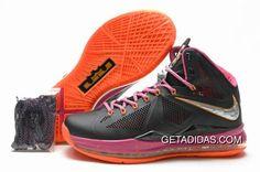 save off 68648 174e4 Lebron 10 Orange Black Purple TopDeals, Price   87.16 - Adidas Shoes,Adidas  Nmd,Superstar,Originals