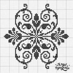 Crochet Border Stitch could be filet crochet pattern Cross Stitch Borders, Cross Stitch Flowers, Cross Stitch Charts, Cross Stitch Designs, Cross Stitching, Cross Stitch Embroidery, Embroidery Patterns, Cross Stitch Patterns, Crochet Cross