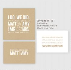 Beach Wedding Announcement, Wedding Announcements - The Wave ...